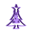 Arbolito.stl Download STL file Cookie Cutter Christmas Tree • 3D printer template, Kukens