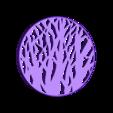 tree_coaster.stl Télécharger fichier STL gratuit Tree silhouette coaster • Design à imprimer en 3D, WallTosh