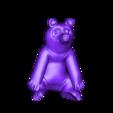 panda1pc.stl Download free STL file Panda • Model to 3D print, yourwildworld