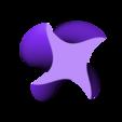 Ninja_Star_Vase_1.STL Download STL file Ninja Star Vase 1 • 3D print template, David_Mussaffi
