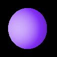 calote sphère.stl Download free STL file Tetrahedron and captive sphere • 3D print template, NOP21