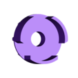 Spinner_NoGrip.stl Télécharger fichier STL gratuit Bayblade Fidget Toy • Modèle à imprimer en 3D, PentlandDesigns