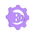 Omen_Tree_Topper.stl Télécharger fichier STL gratuit Gears of War Halloween Tree • Modèle pour impression 3D, ChaosCoreTech