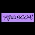 Boom_Stencil.stl Télécharger fichier STL gratuit Gears of War Halloween Tree • Modèle pour impression 3D, ChaosCoreTech