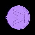 WW.stl Download free STL file West World Logo Key Chain • 3D printable design, Cults