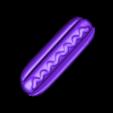 Hotdog.stl Télécharger fichier STL gratuit Hotdog • Design pour imprimante 3D, 3DBuilder
