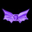 bat tie_repaired.stl Download free STL file Bat Bow Tie • Design to 3D print, MakePrintable