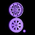 Mainwheelset.stl Download free STL file Wheel set for ESM F7F Tigercat. • Design to 3D print, tahustvedt