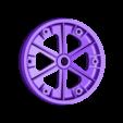Nosewheel03.STL Download free STL file Wheel set for ESM F7F Tigercat. • Design to 3D print, tahustvedt