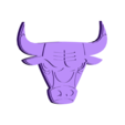 Chicago_Bulls_3D.stl Download free STL file Chicago Bulls - Logo • 3D printing model, CSD_Salzburg