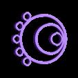 "Pendant_base.stl Download free STL file Set ""Peacock Feather"" • Design to 3D print, TanyaAkinora"