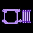 PLATE.stl Download free STL file Ramps 1.4 Fan Mount - 1 hour print • 3D printer template, BAYA
