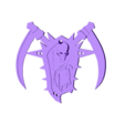 Undead_amulet.stl Download free STL file Undead amulet from World of Warcraft • 3D printer object, 3D-mon