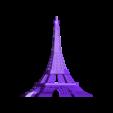 Torre-Eiffel.obj Télécharger fichier OBJ gratuit tour Eiffel • Design pour imprimante 3D, Superer012