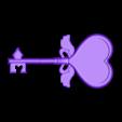 HandleFront.STL Download free STL file Serena's Pokémon Performance Key • 3D printable model, Vexelius