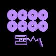 OneManBand_Tambourine.STL Download free STL file 3D Printed One Man Band Musical Instrument • 3D printable model, 3DSage