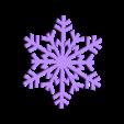 snowflake.STL Download STL file Christmas ornaments - pack 2 • 3D printable model, Bajmb