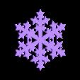 snowflake2.STL Download STL file Christmas ornaments - pack 2 • 3D printable model, Bajmb