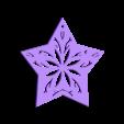 star.STL Download STL file Christmas ornaments - pack 2 • 3D printable model, Bajmb