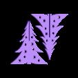 sapin 2.stl Download free STL file Christmas tree • 3D printer design, amigapocket