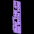 SWM4LOGO_TOP.stl Télécharger fichier STL gratuit  May the 4th be With You plaque (Dual Extrusion) • Plan pour impression 3D, Geoffro