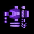 fullplate.stl Download free STL file Retro Dingbot Replica • 3D printable model, Geoffro