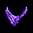 Scorpion_mask.stl Download free STL file Scorpion Mask (Mortal Kombat) • 3D printing design, Geoffro
