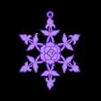 Roseflake.STL Télécharger fichier STL gratuit Rose Snowflake • Modèle à imprimer en 3D, Vexelius
