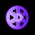DF XDerby SciFi Wheel.stl Download free STL file Dreamfactory XDerby • 3D printer template, yanizo