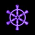 Ship_Wheel_Pendant.stl Download free STL file Ship Wheel Pendant • 3D printable model, Desktop_Makes
