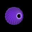 HEX FOR PRINT_04.STL Download STL file FIBONNACCI | PENDANT SHADE • 3D print object, VOOOD