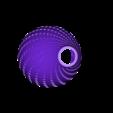 HEX FOR PRINT_03.STL Download STL file FIBONNACCI | PENDANT SHADE • 3D print object, VOOOD