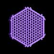 Honey Comb Module.STL Télécharger fichier STL gratuit Module autobloquant   Nid d'abeille • Design pour imprimante 3D, VOOOD