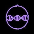 dna_christmas_ball_flat8cm.stl Download free STL file DNA christmas ball • 3D print model, cyrus