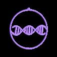 DNA_christmas_ball_orizzontal.stl Download free STL file DNA christmas ball • 3D print model, cyrus