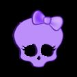MONSTERHIGH.stl Télécharger fichier STL gratuit Monsters high skull pendant • Modèle pour impression 3D, cyrus