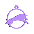 ball_comet.stl Download free STL file  christmas balls • Model to 3D print, cyrus