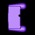 top_v2.stl Download STL file Nintendo New 3DS (N3DS) grip • Template to 3D print, RajenK