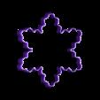 Snowflake2.stl Download free STL file Simple snowflake cookie cutter • 3D printer model, arkcol