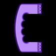 PoigneeV1.STL Download free STL file Handle for Cage modular DSLR • 3D printer object, vanson
