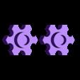 nos_knobs_rebuilt.stl Download free STL file Mini Nitrous bottle • 3D printing design, hugo