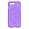 The last jedi.stl Download STL file Iphone 4 Covers • 3D printable template, vincent91100