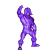Hi man body decimate clean.stl Download STL file he man • 3D printable template, tutus