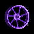 skinny_rear_rim.stl Télécharger fichier STL gratuit 2016 Suzuki GSX-RR MotoGP RC Moto • Modèle pour imprimante 3D, brett