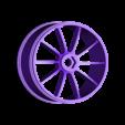 rear_rim_for_rubber_tire_test.stl Télécharger fichier STL gratuit 2016 Ducati Draxter Concept Drag Bike RC • Design à imprimer en 3D, brett