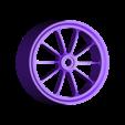 rear_rim_.stl Download free STL file 2016 Ducati Draxter Concept Drag Bike RC • 3D printer template, brett