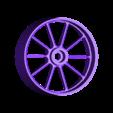 front_rim.stl Télécharger fichier STL gratuit 2016 Ducati Draxter Concept Drag Bike RC • Design à imprimer en 3D, brett