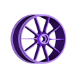 rear_rim_for_rubber_tire.stl Download free STL file 2016 Ducati Draxter Concept Drag Bike RC • 3D printer template, brett
