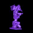 Guerrera del dragon .stl Download STL file Woman and Dragon • 3D printable design, Shira