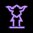 qx95 ant guard yoda.STL Download free STL file yoda antenna guard • 3D print design, corto_maltese